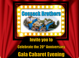 Cossack Brothers 20th Anniversary – Gala Cabaret Evening